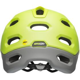 Bell Super DH MIPS Helmet matte/gloss dark gray/bright green/black